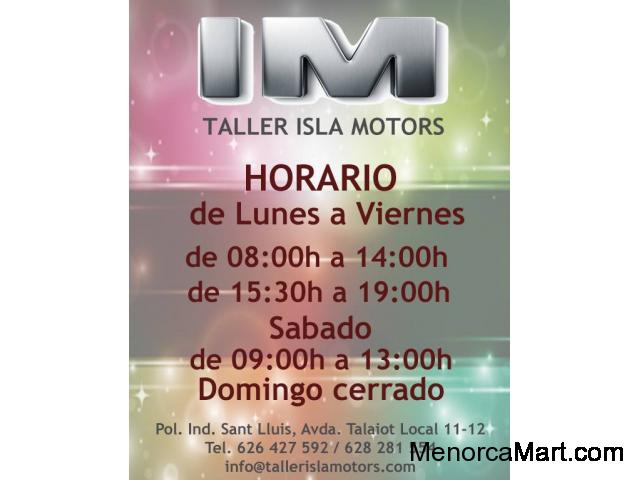Taller Isla Motors